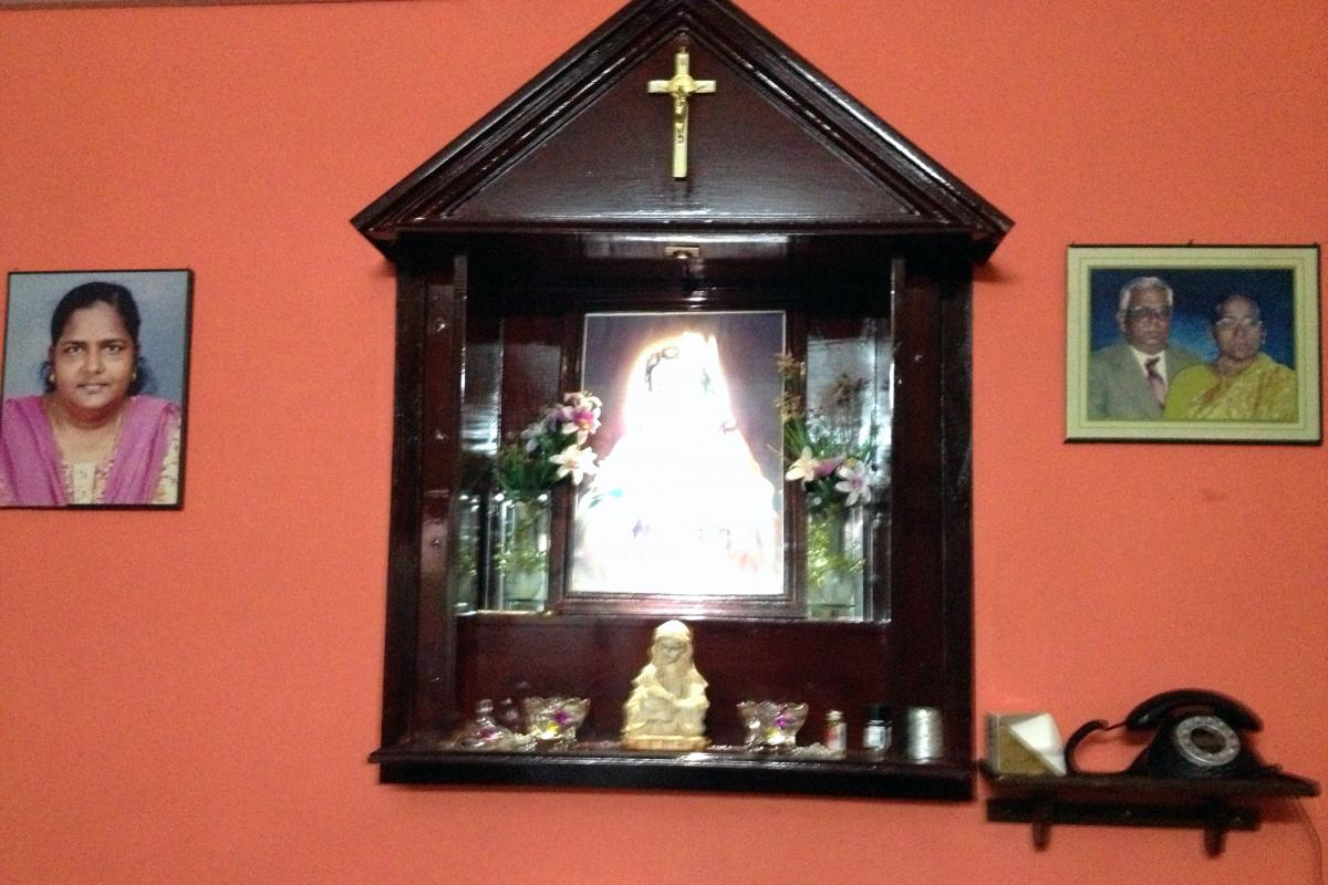 Religious Life Meant To Be Visible In Indian Homes