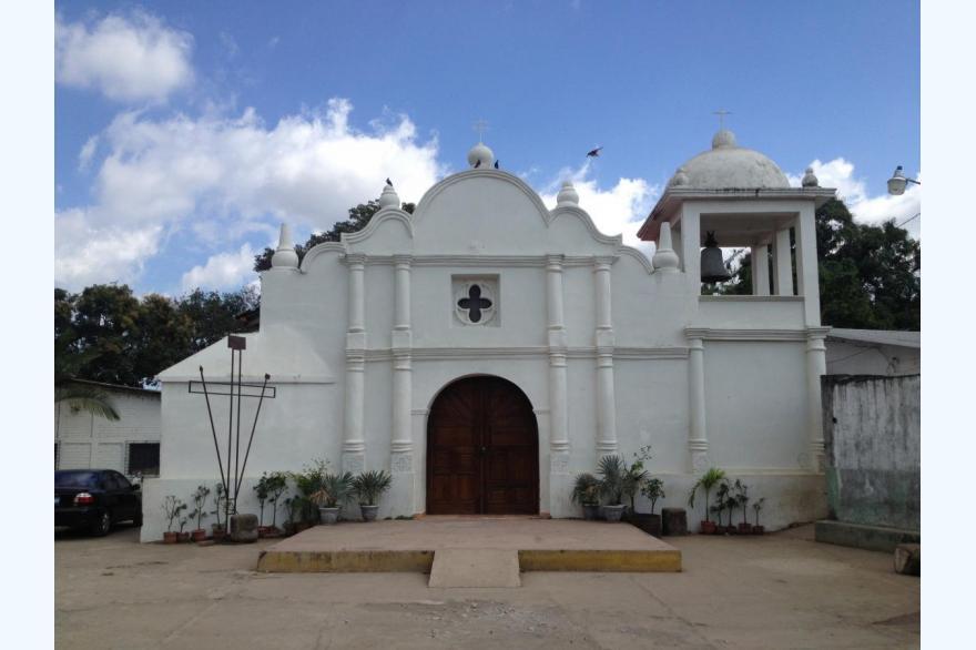 Parish church at Caluco, El Salvador