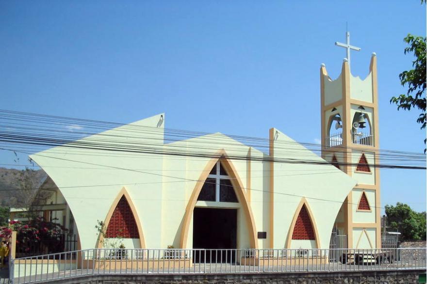 Iglesia Catolica de Dulce Nombre de María in Chalatenango, El Salvador