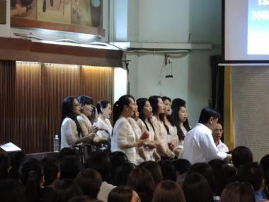 Mass at St. Joseph's, Hong Kong