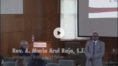 Fr. Arul Raja on India's Dalit
