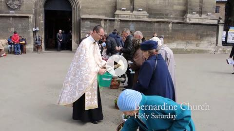 Blessing the Easter Baskets, Lviv, Ukraine