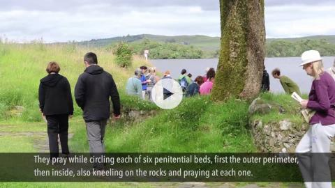 Pilgrimage to St. Patrick's Purgatory, Lough Derg, Ireland