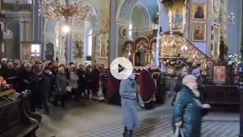 Great Vespers of the Entombment, Good Friday, Lviv, Ukraine