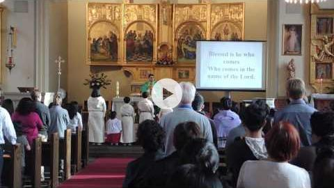 Sunday English Liturgy at Sankt Annae, Copenhagen, Denmark