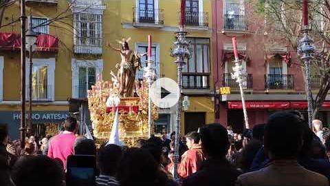 El Resucitado's Easter Sunday procession in Seville, Spain