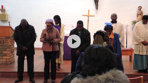 Excerpts of a Ghanaian Catholic liturgy at St. Michael's Church, Berlin, Germany