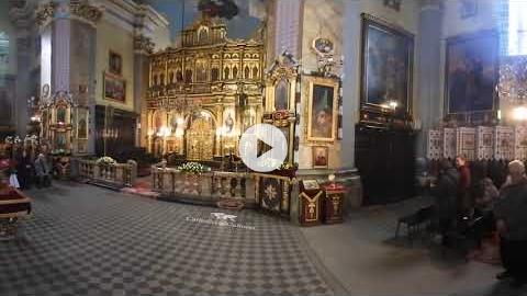 360° Video: Great Vespers of the Entombment, Ukraine 2017