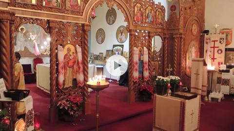 Ukrainian Catholic Christmas: Great Compline and Divine Liturgy