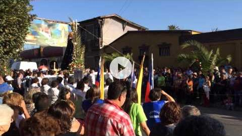 Feast of the Virgin of the 40 Hours, Limache, Chile