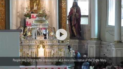 Devotion to the Virgin Mary at Csíksomlyó, Romania