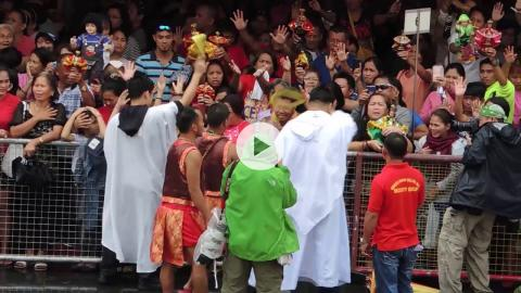 Feast of Santo Niño Saturday Mass and Procession, Cebu, Philippines