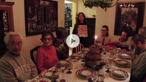 Ukrainian Catholic Christmas, Sviata Vecherya, Holy Supper