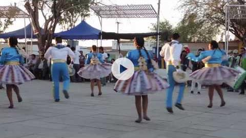 Dancing for the Virgen del Carmen in La Tirana, Chile