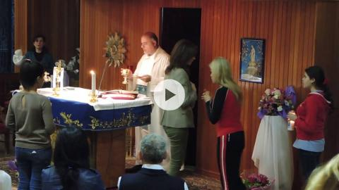 Maronite Mass at Our Lady of Lebanon Shrine, Keserwan, Lebanon