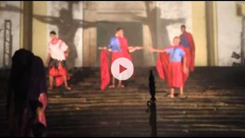 Youth Production of the Passion on Good Friday in Ouro Preto, Brazil, Part 3 of 3