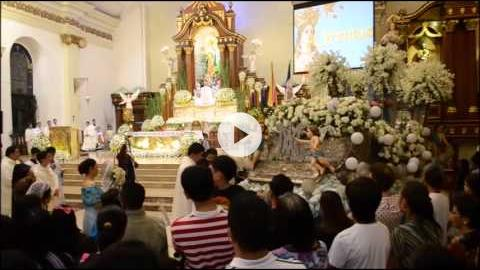 Feast of the Immaculate Conception, Malolos Cathedral, Bulacan, Philippines