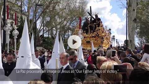 Semana Santa 2016: Palm Sunday Processions in Seville, Spain
