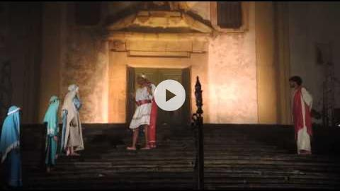 Youth Production of the Passion on Good Friday in Ouro Preto, Brazil, Part 2 of 3
